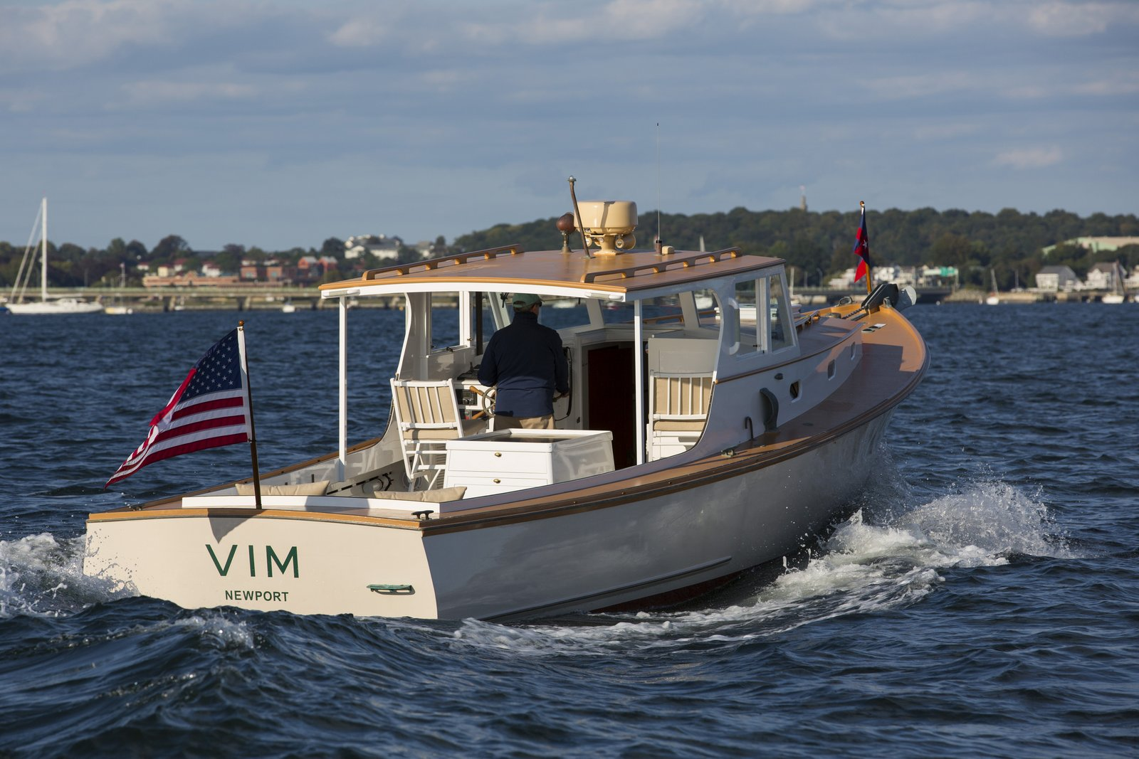 VIM - 1957 Newbert & Wallace Lobster Yacht - Artisan Boatworks