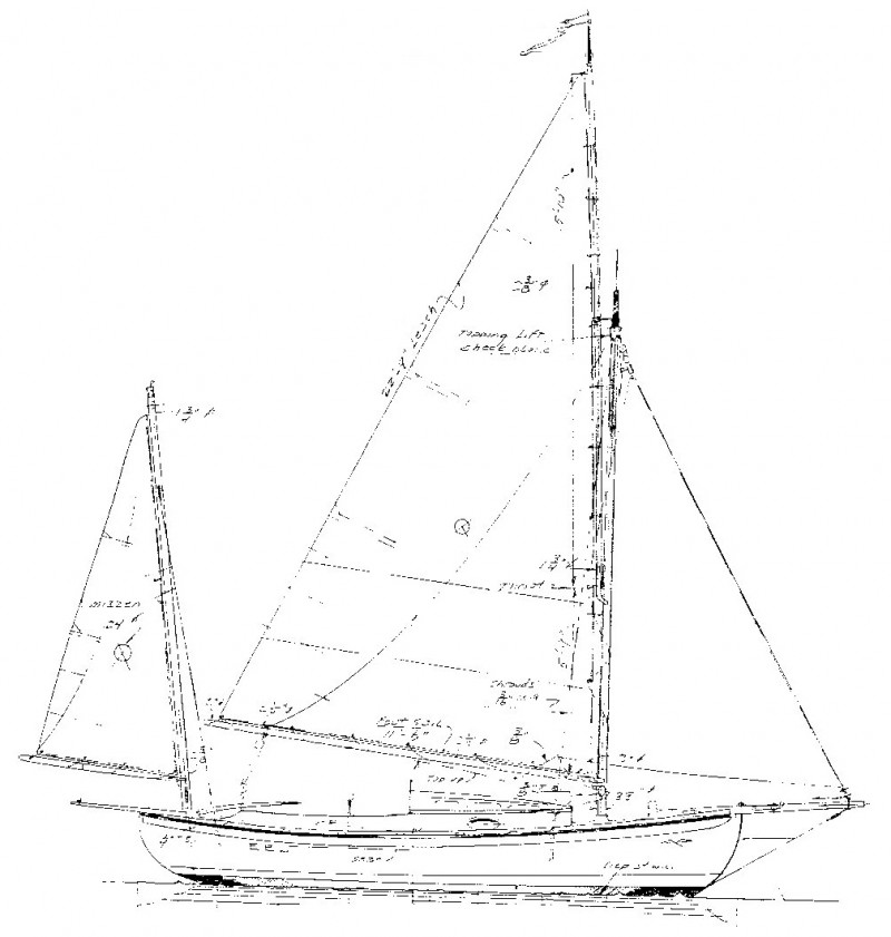 Artisan boatworks for William garden sailboat designs
