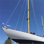 Rig for David Pedrick designed yawl MOONRISE