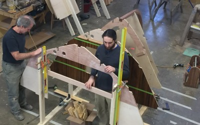 At Artisan Boatworks: Matthew Smith Classic Yacht Launch Tender