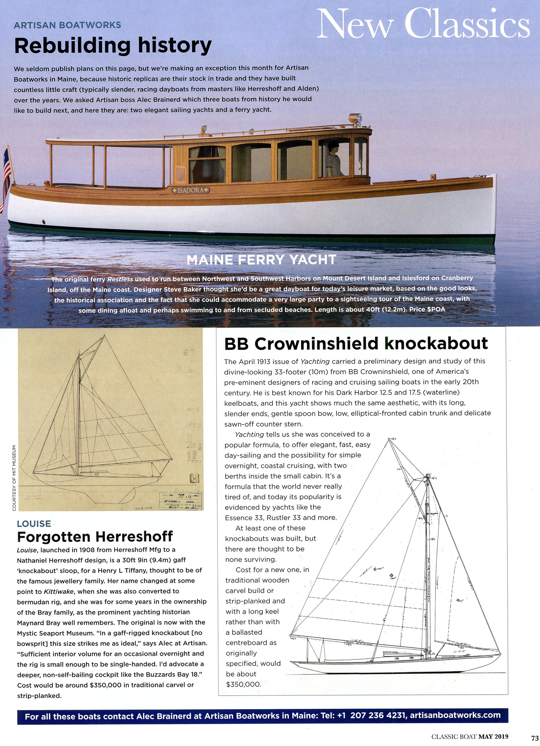 Articles - Artisan Boatworks