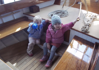 Artisan Boatworks Herreshoff Fish Class kids